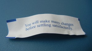 Chinese Fortune Decided
