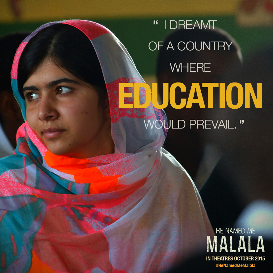 "@MalalaFund and @MasalaMommas talk ""He Named Me Malala"""